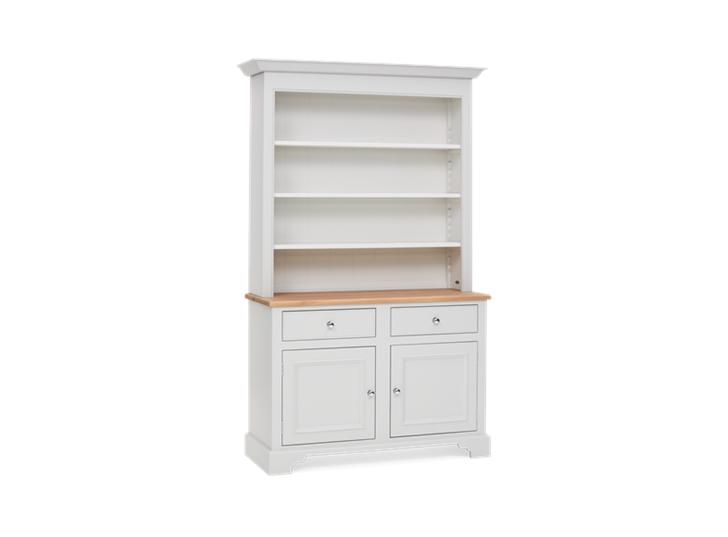 Chichester 4ft Open Rack Dresser Top 3Q