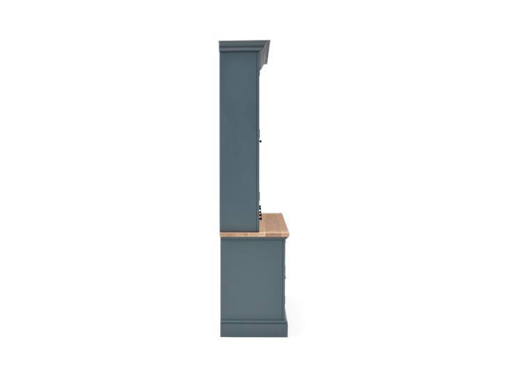Henley 5ft AV Cabinet Smoke Side