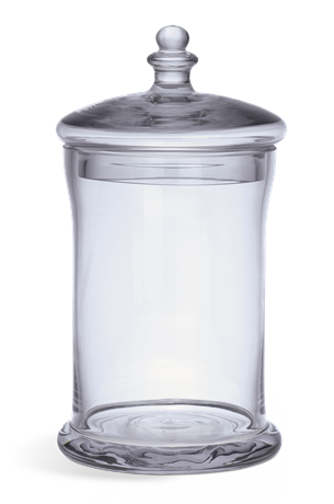 Belmont Glass Jar, Small