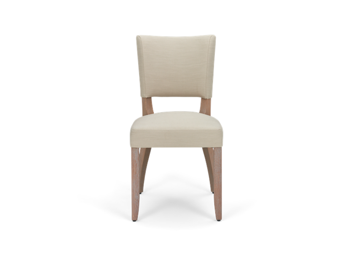 Mowbray Dining Chair_Clara Natural_Pale Oak_Front