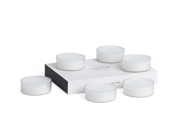 Forster Tealight Candles, Set of 6 - Large 2