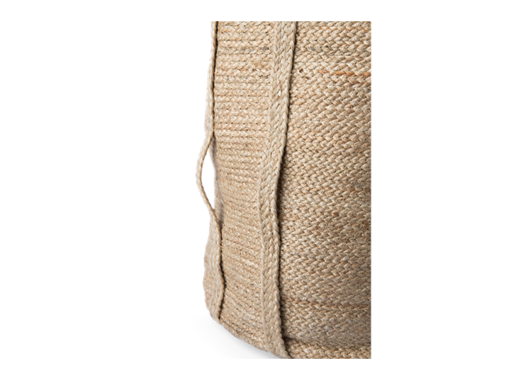 Arbroath laundry basket, detail