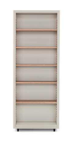Pembroke Fitted Storage-825mm Driftwood-Silver Birch Front