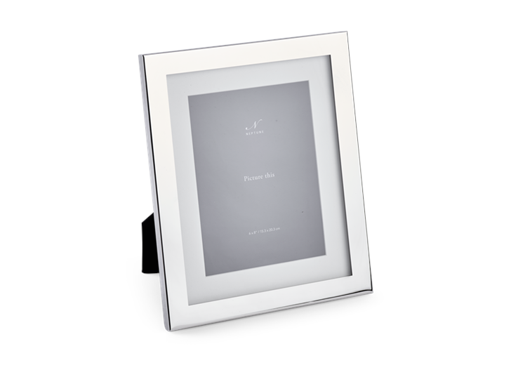 Newton 6x8 Silver Plated Photo Frame 2