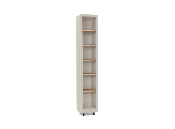 Pembroke Fitted Storage-400mm Driftwood-Silver Birch 3Q