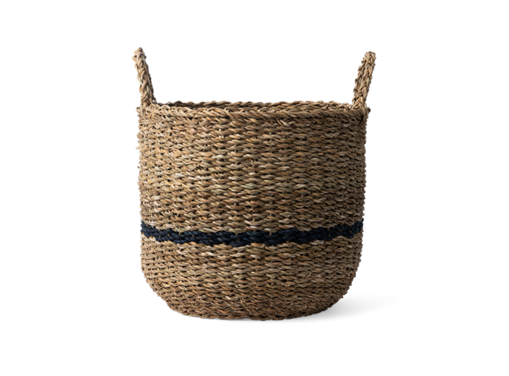 Redford log basket, small, front