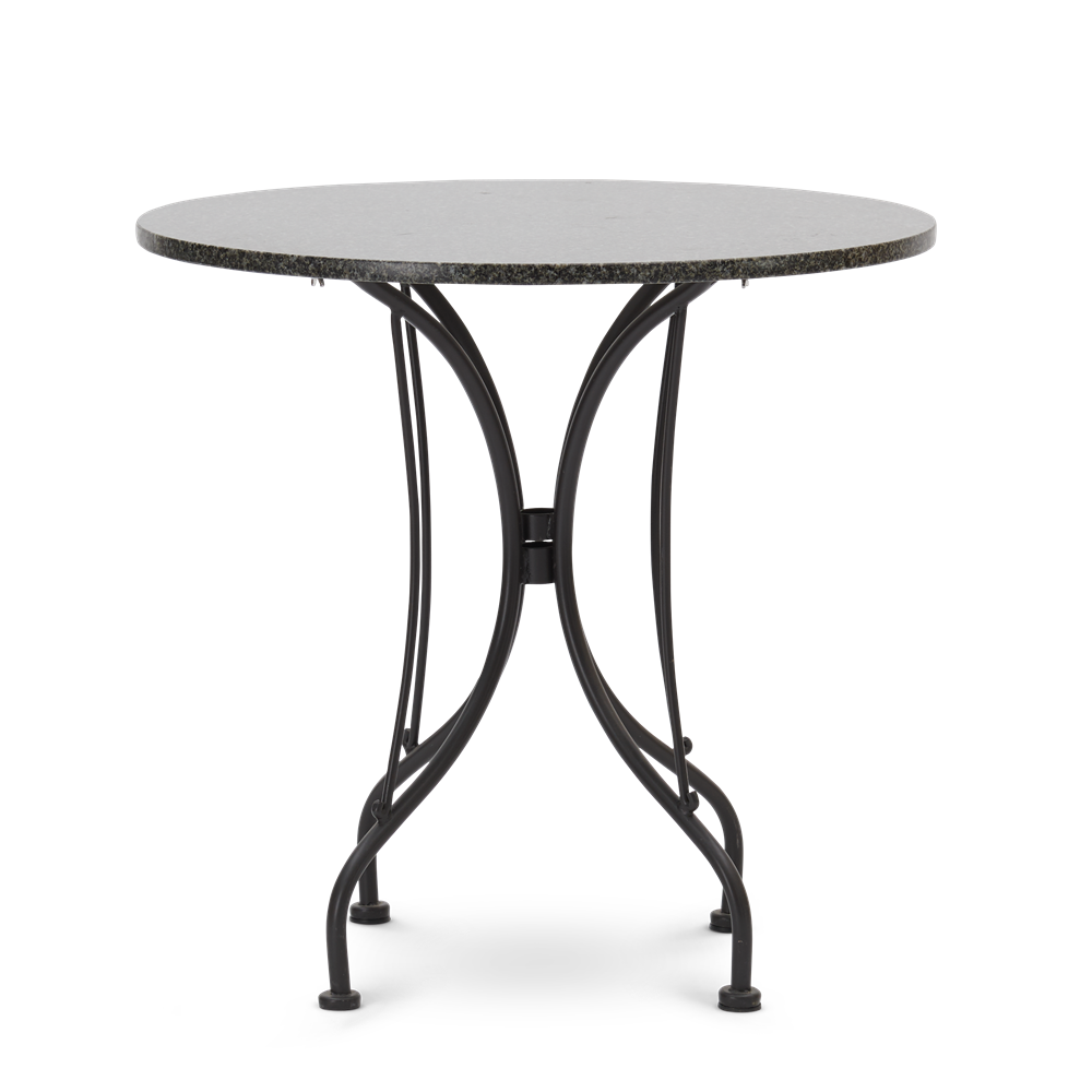 Boscombe Bistro Table 2 Seater Table Black & Granite