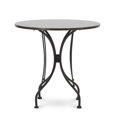 Boscombe Bistro Table 2 Seater Table Black & Granite