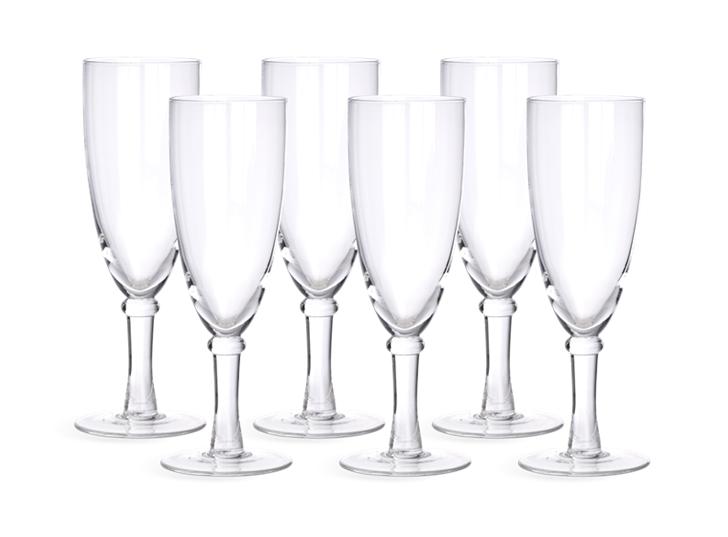Barnes Champagne Flute Glasses - Set of 6