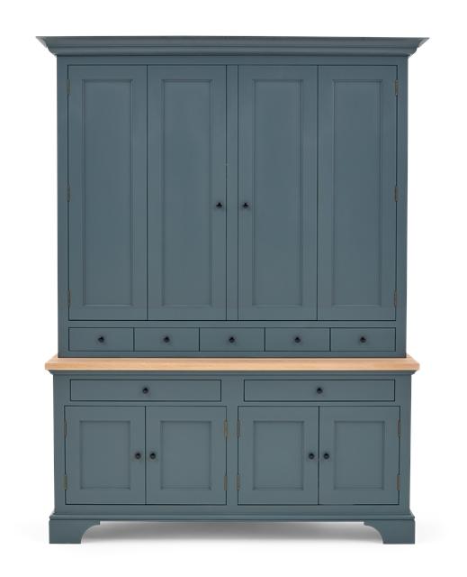 Henley 5ft AV Cabinet Smoke Front