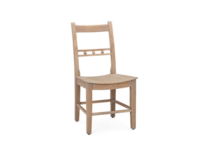 Suffolk Dining Chair_Seasoned Oak_3Quarter copy