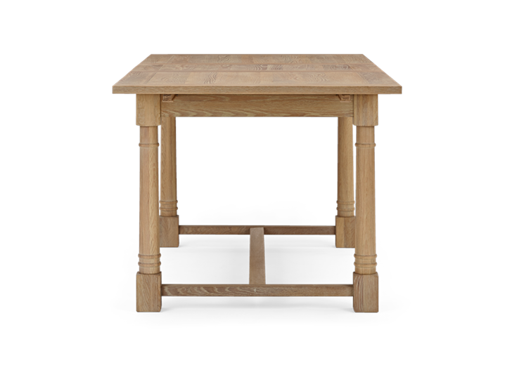 Edinburgh 150-240 Extending Table Oak_Side