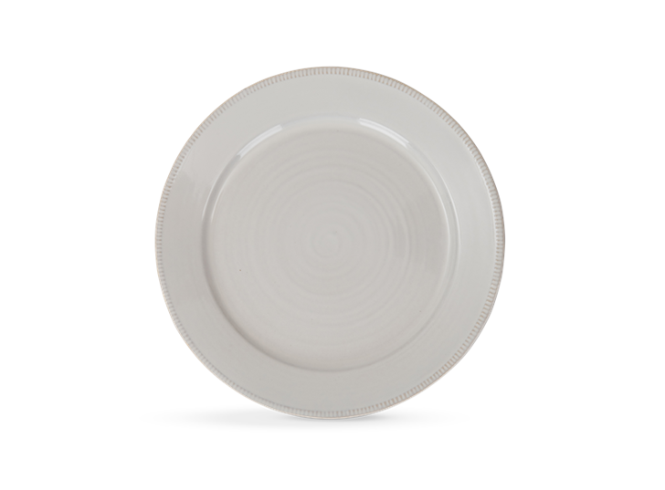 Sutton dinner plate, off white, above