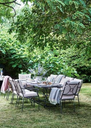 Monaco Ten Seater Garden Set with Provence Tea for Two Set