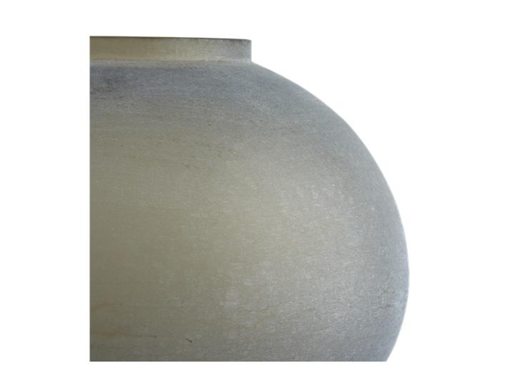 Alconbury Round Vase Large Grey_Detail