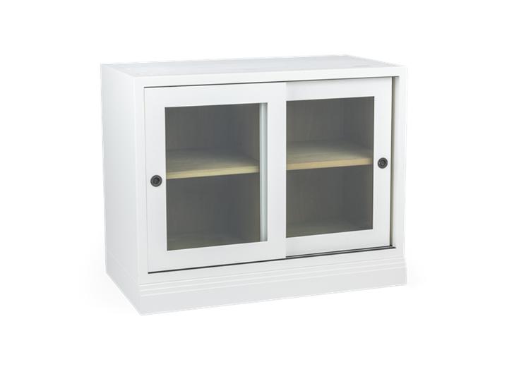 Chawton, 2 door base glazed doors, 3quarter copy