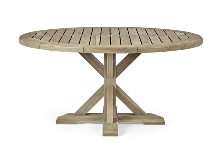 Harmondsworth 6-seater Round Table_Garden Furniture