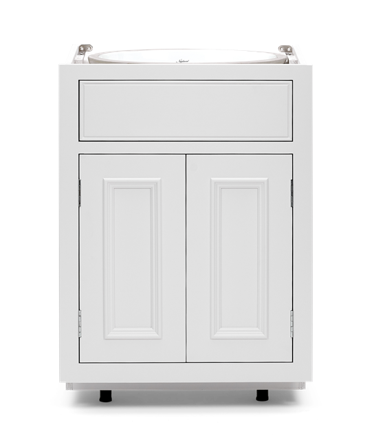 Chichester 600 Sink Door Base Cabinet-Shell-Shell Front