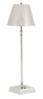 Hanover Tall Cordless Lamp, Nickel