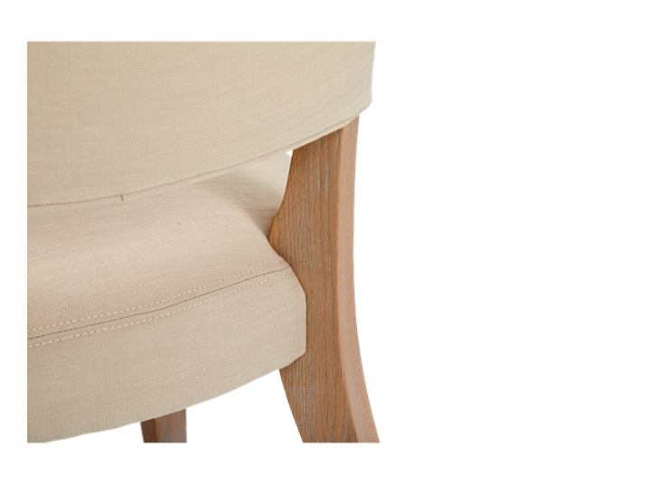 Mowbray Dining Chair_Clara Natural_Pale Oak_Detail 002
