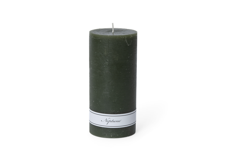 Blyton Candle Olive 7x15, front