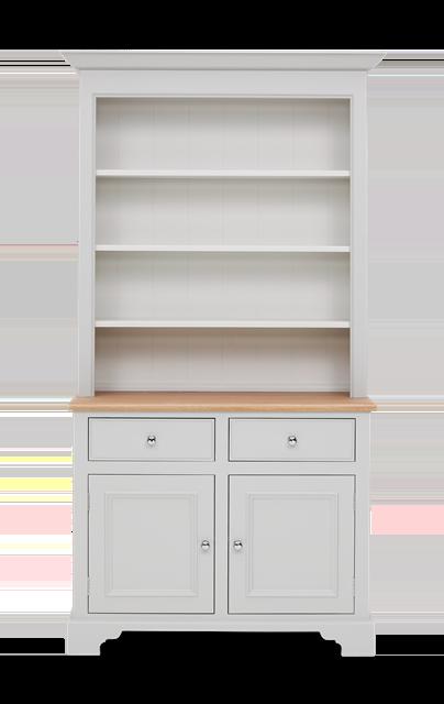 Chichester 3ft6 Open Rack Dresser Top Front