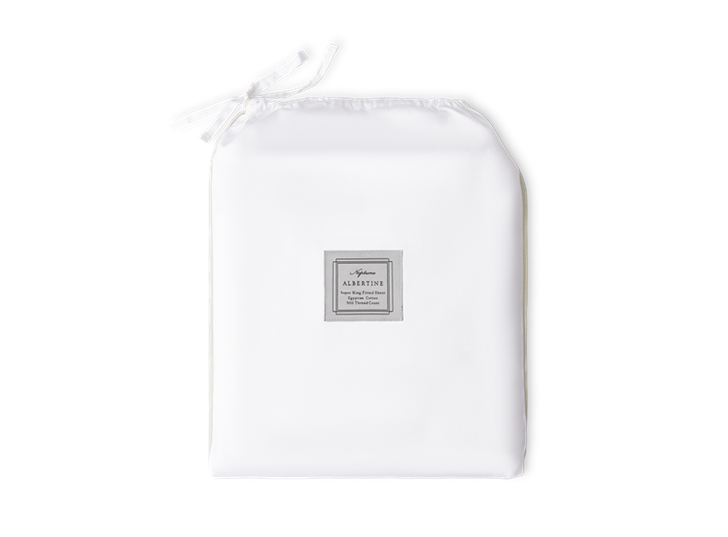 Albertine Fitted Sheet Lily Super King_Front