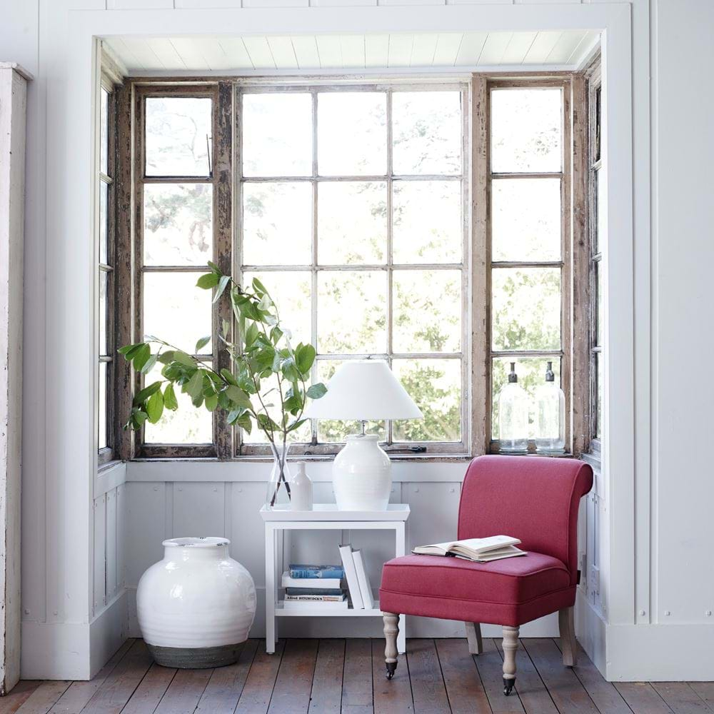 Madeleine Chair & Side Table Window Seat