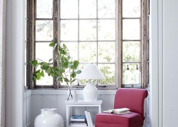 Madeleine Chair & Side Table Window Seat