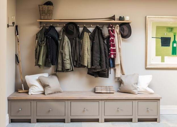 Neptune Chichester 6ft coat rack country boot room