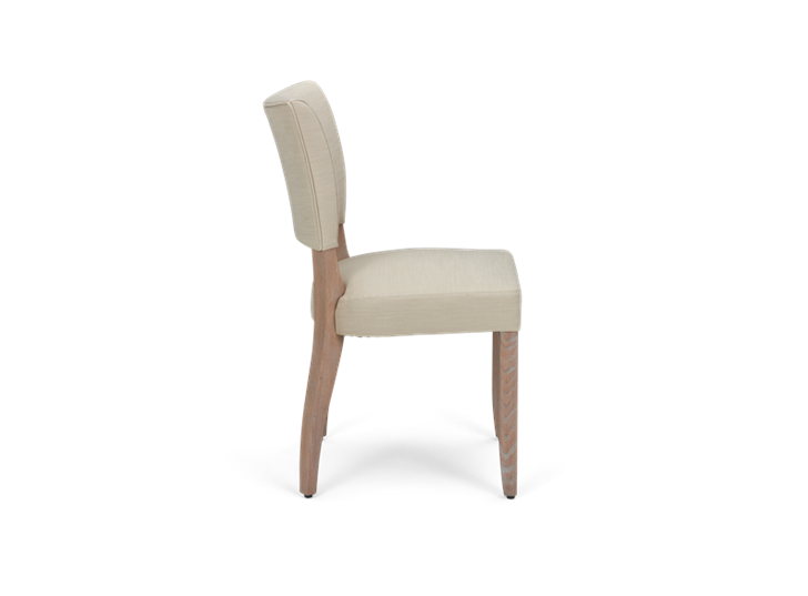 Mowbray Dining Chair_Clara Natural_Pale Oak_Side