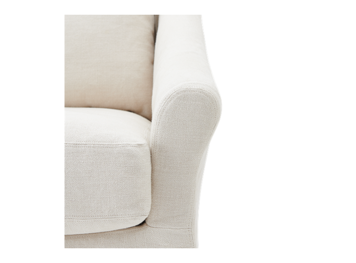 Long Island Love Seat Pale Oat_Detail 1