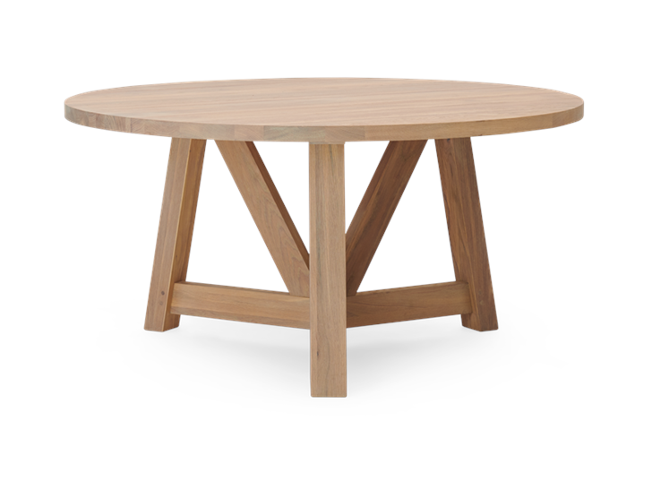 Arundel 150 Table Natural Oak_Front