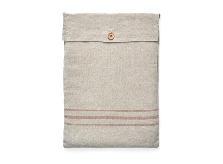 Ayla Stripe Placemat Set of 6 Apricot_Bag 1