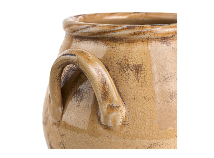 Bayswater Vase Small Saffron_Detail