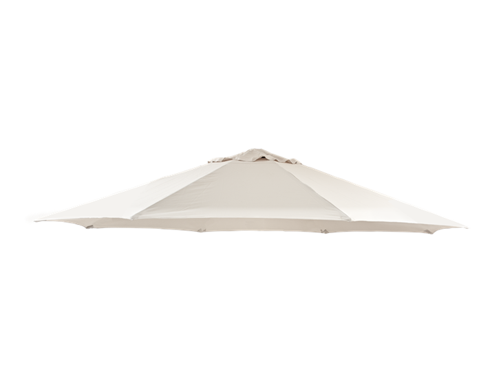 Classic 3.5m Round Parasol_Natural_Canopy_only