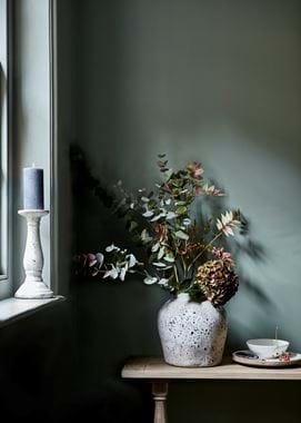 Eucaplyptus berry spray twig