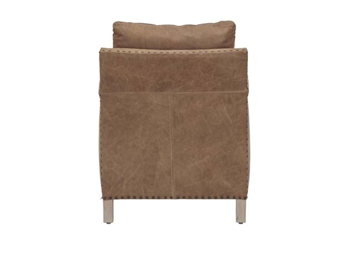 Caspar Armchair_St James Aged Tan Leather_Back