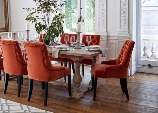 Formal Balmoral dining table