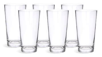 Greenwich Tall Water Glasses, set of 6