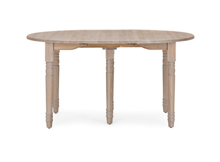 Sheldrake 110-270 Extending Table_Seasoned Oak_Front