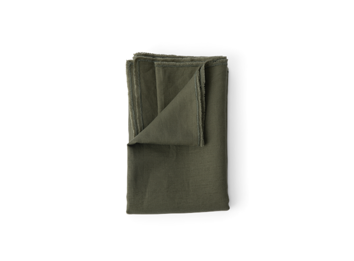 Antonia table runner 250 _ 350 Olive_above copy
