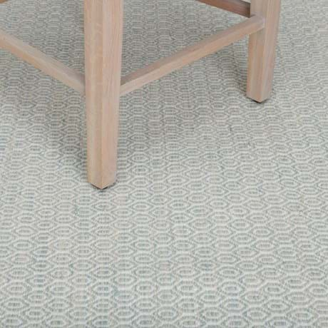 Alderbury 200x200cm Rug Soft Teal_Detail