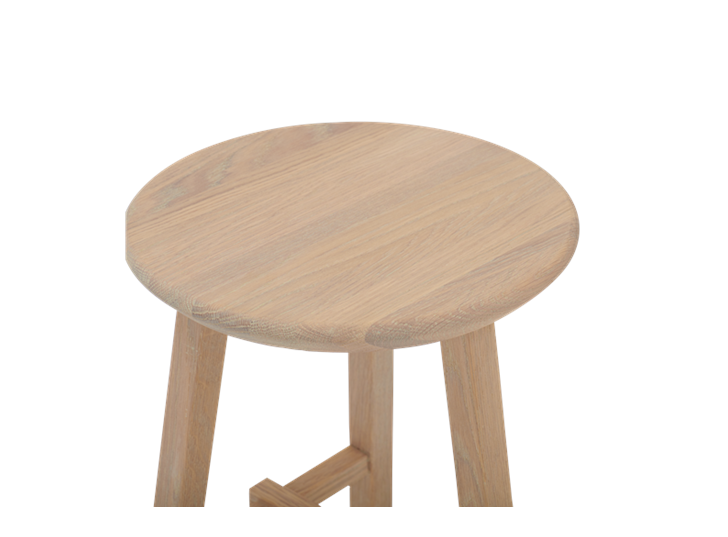 Northwich Stool Natural Oak_Detail 1