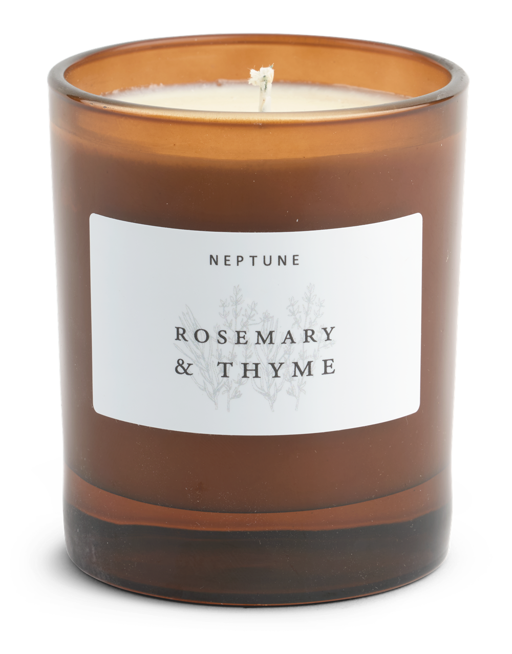 Rosemary and Thyme Candle_Front