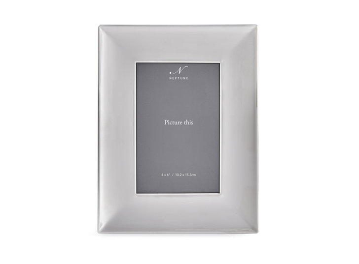 Porter 4x6 Silver Plated Photo Frame 1