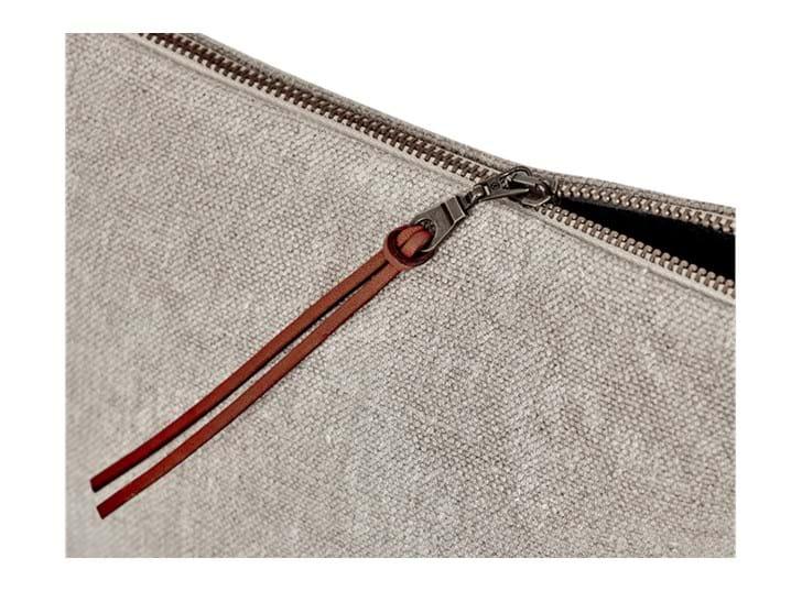 Bella linen cosmetic bag_zip