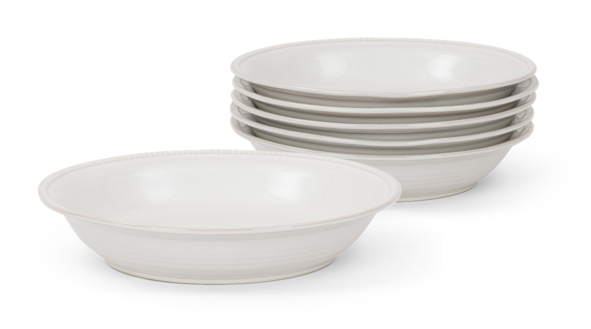 Sutton pasta bowl, off white, 5 stack