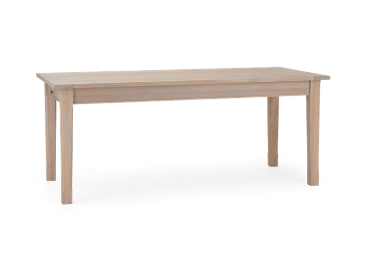 Moreton 6 Seater Natural Oak_3Quarter