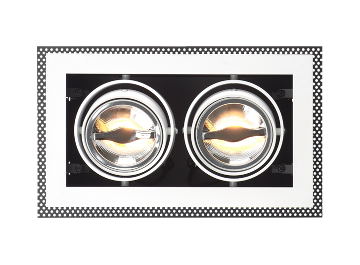 Coasted AR70 Ceiling recessed light Double 1